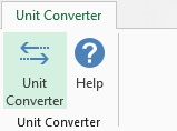 Unit Converter and Excel 2007-2016